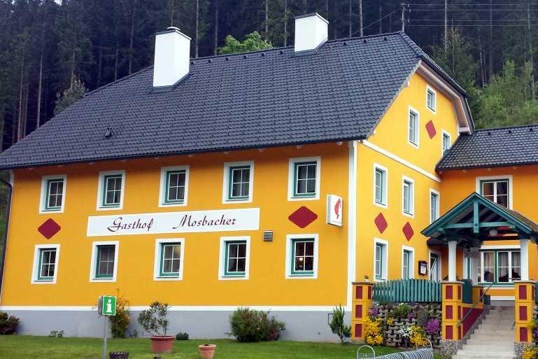 Gasthof Mosbacher Falkenstein Gastgeber am Feistritztalradweg R8 Radlwirt
