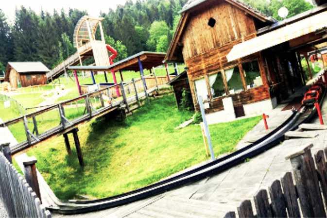 Sommerrodelbahn Koglhof Ausflugsziel Feistritztalradweg R8